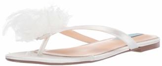 Betsey Johnson Blue Women's SB-Tulia Flat Sandal