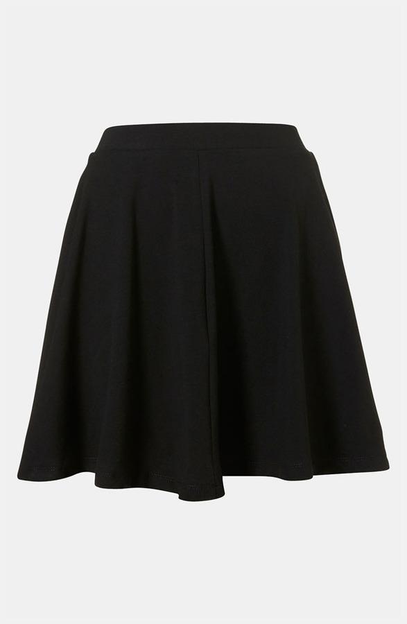 Topshop 'Andie' Skater Skirt