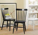 Pottery Barn Tilden Spindle Back Side Chair