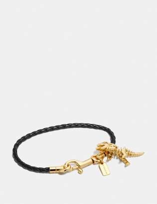 Coach Braided Charm Friendship Bracelet