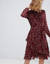 Vero Moda Ditsy Printed Tiered Dress