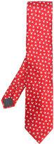 Lanvin bird pattern tie