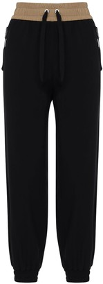 Moncler Jersey Track Pants W/side Bands
