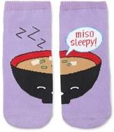 Forever 21 Miso Sleepy Graphic Socks