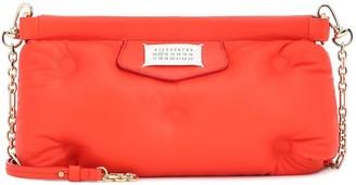 Maison Margiela Red Carpet Glam Slam leather clutch