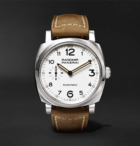 Panerai Officine Radiomir 1940 3 Days Automatic Acciaio 42mm Stainless Steel And Leather Watch