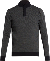 Ermenegildo Zegna Zip-front wool sweater