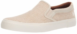 Frye Men's Ludlow Slip ON Sneaker OFF WHITE 11 M