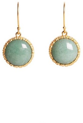 Lynn Earrings in Aventurine