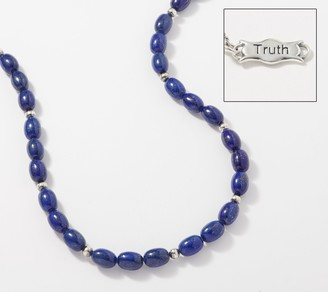 """American West Gemstone and Sterling Silver 21"""" Bead Necklace"""