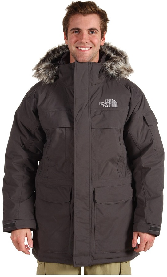 The North Face McMurdo Parka (Graphite Grey/Graphite Grey) - Apparel