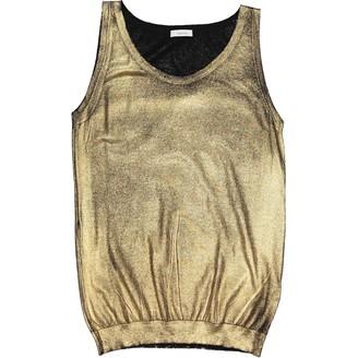 Leetha Gold Cashmere Knitwear