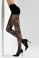 Thumbnail for your product : Natori Scarlet Lace Sheer Tights