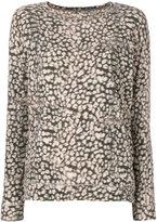 Majestic Filatures patterned jumper