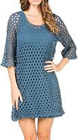 Monoreno Crochet Net Dress