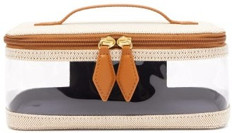 Paravel See All Canvas Vanity Case - Tan Multi