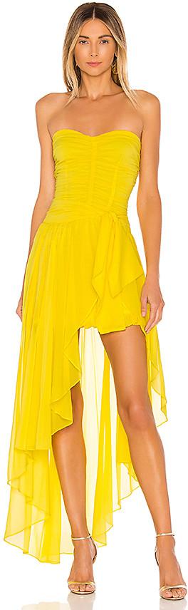 For Love & Lemons Bali Layered Dress