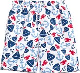 City Threads Printed Swim Trunk (Baby) - Summer Sailing - 3-6 Months