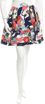 Mary Katrantzou Floral Print Mini Skirt