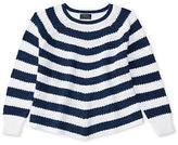 Ralph Lauren Striped Cotton Swing Sweater