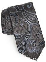 Nordstrom Paisley Textured Silk Tie (X-Long)