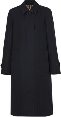 Burberry Cotton Gabardine Car Coat