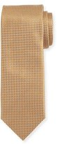 Canali Silk Basketweave Tie, Rust Brown