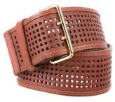 Barneys New York Barney's New York Wide Leather Belt
