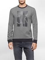 Calvin Klein Marled Logo Sweatshirt