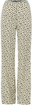 Max Mara Weekend SEVERO lightweight wide leg printed trouser