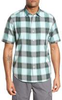 Tommy Bahama Biscayne Plaid Regular Fit Sport Shirt