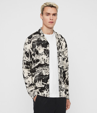 AllSaints Awa Long Sleeve Shirt