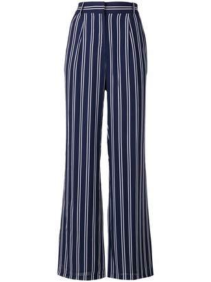 MICHAEL Michael Kors striped palazzo trousers