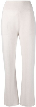 Sminfinity Straight-Leg Cashmere Trousers