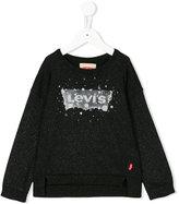 Levi's Kids sweatshirt with splatter effect logo