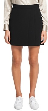 Theory Staple Wrap Skirt