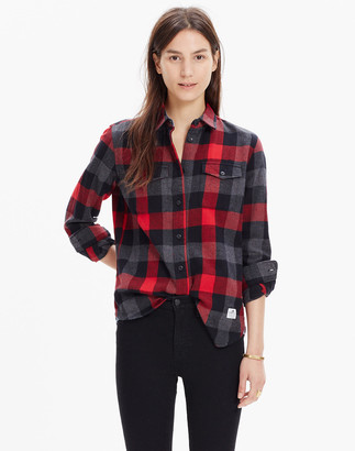 Madewell Penfield Chatham Flannel Check Shirt