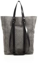 CNC Costume National Textured Leather Tote