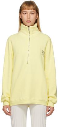 Simon Miller Yellow Rime Pullover Sweatshirt