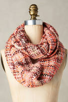 Anthropologie Fretwork Infinity Scarf
