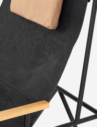 Lulu & Georgia Cassie Leather Accent Chair