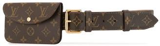 Louis Vuitton 2007 Pre-Owned Monogram Print Belt Bag