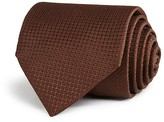Canali Textured Solid Classic Tie