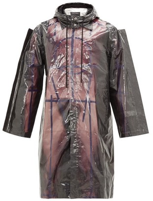 Craig Green Body-print Bonded-cotton Parka - Purple