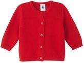 Petit Bateau Baby girls wool and cotton cardigan