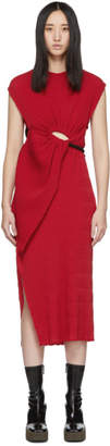 CHRISTOPHER ESBER Red Looped Tank Dress
