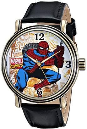 Marvel Men's W001763 Spider-Man Analog-Quartz Black Watch