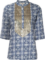 Figue 'Jasmine' tunic - women - Cotton/Sequin - XS