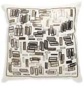 Loloi Beaded Cotton Throw Pillow