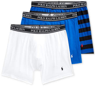 Polo Ralph Lauren Men 3-Pk. Classic Stretch Boxer Briefs